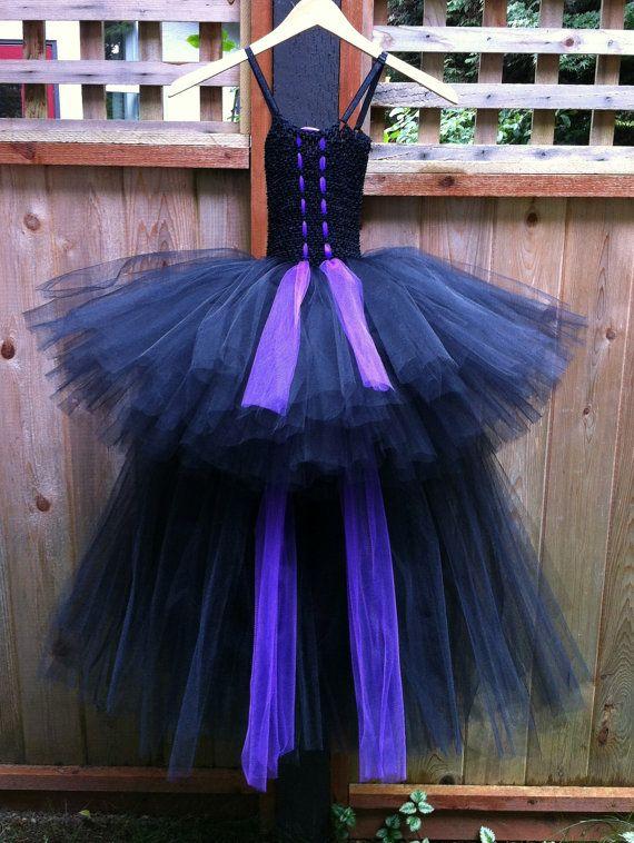 MALEFICENT Costume. Evil Queen purple & by GriffelaTutuBoutique