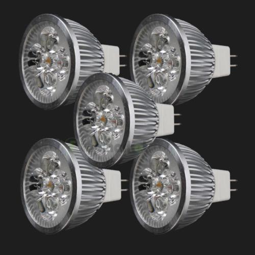 5X-LED-Spotlight-Bulb-4W-MR16-GU5-3-DC12V-Warm-White-Spot-Light-Energy-Saving #SavingHomeEnergy #HomeEnergySaving