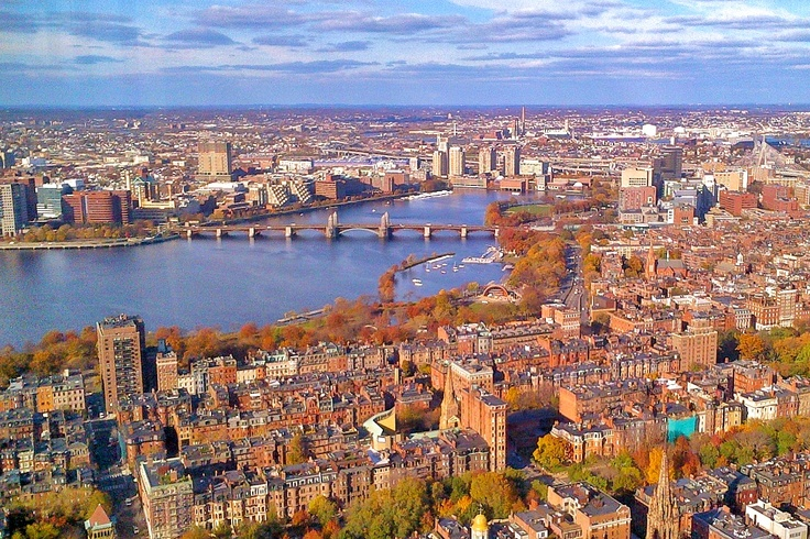 Did you know there are more than 100 colleges and universities dotted around Boston?!