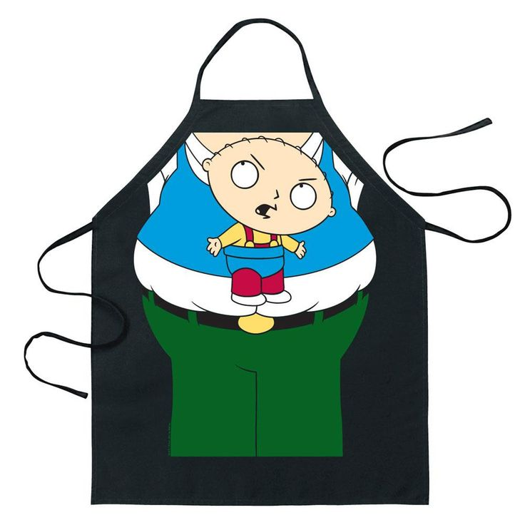 Family Guy - Peter & Stewie Costume Apron