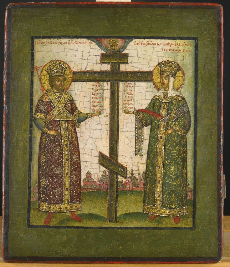 St Constantine and St Helena with the True Cross, early 18th century