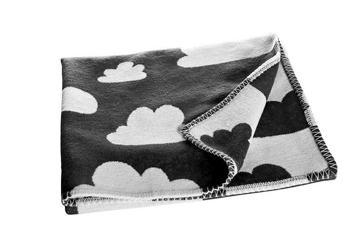 Cloud Blanket : Gunila Axen: Cloud Prints, Cloud Baby, Blankets Black, Dekentj Blauw, Baby Blankets, Blue Cloud, Blauw Wolken, Cloud Blankets, Col Form