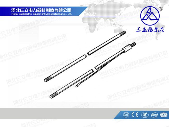Polelinehardware Earthrod Coating Copper Diameter 12mm To 35mm Length 1 2meters To 6meters Rod Pole Earth