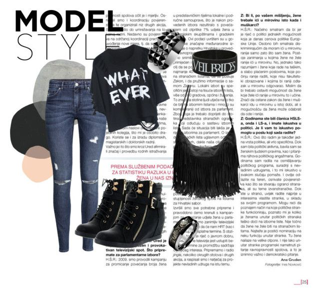 whatever by stelamahomie on Polyvore featuring H&M, Top Moda and Waterford
