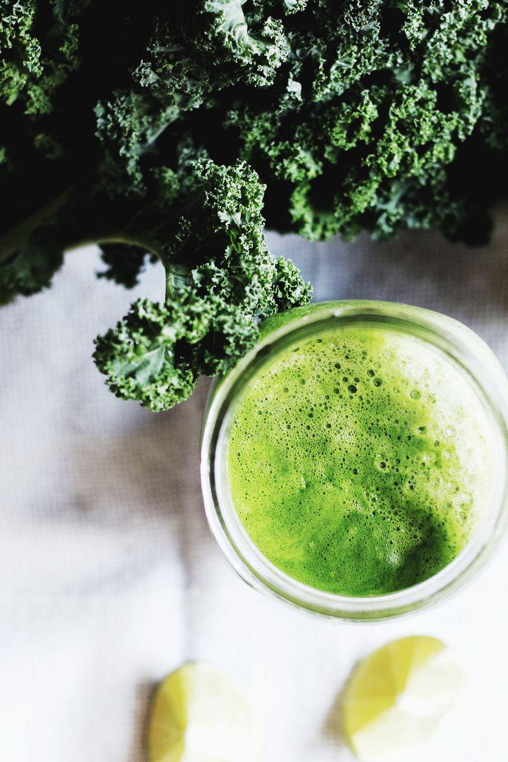 Green Lemonade Detox Juice || The Free Spirited