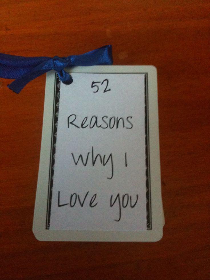 52 reason . Why i love u