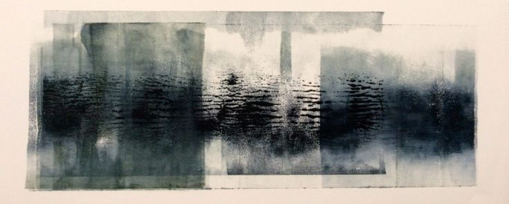 Anna Morris, oil on paper, 2014