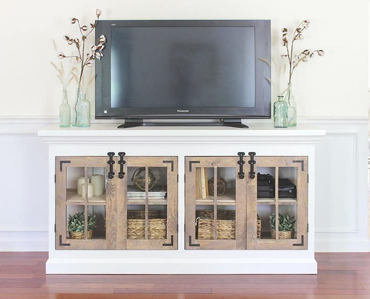 DIY TV Stand & Media Console Ideas