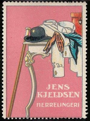 Abbigliamento maschile Jens Kjeldsen, ca. 1910