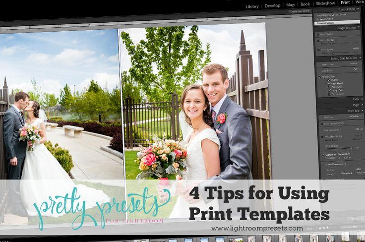 Using the Print Templates Module in Lightroom is a fun way to create collages of photos to share on Facebook, your blog or website. We even have some FREE Pr