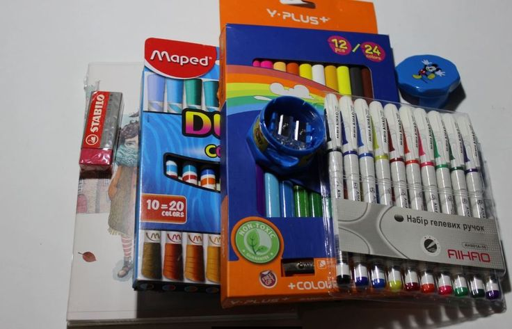 MIXED LOT OF School STATIONERY ITEMS High quality brand #MixBrand