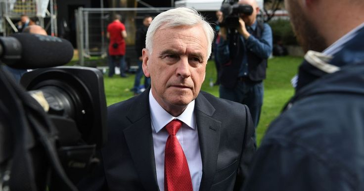 John McDonnell shadow chancellor calls for one million people to take to the streets to force Theresa May from power - It comes as left-wing groups plan a mass protest on July 1 aiming to pile the pressure on Theresa and the terrorists the PM's coalition with Northern Irelands hardline DUP