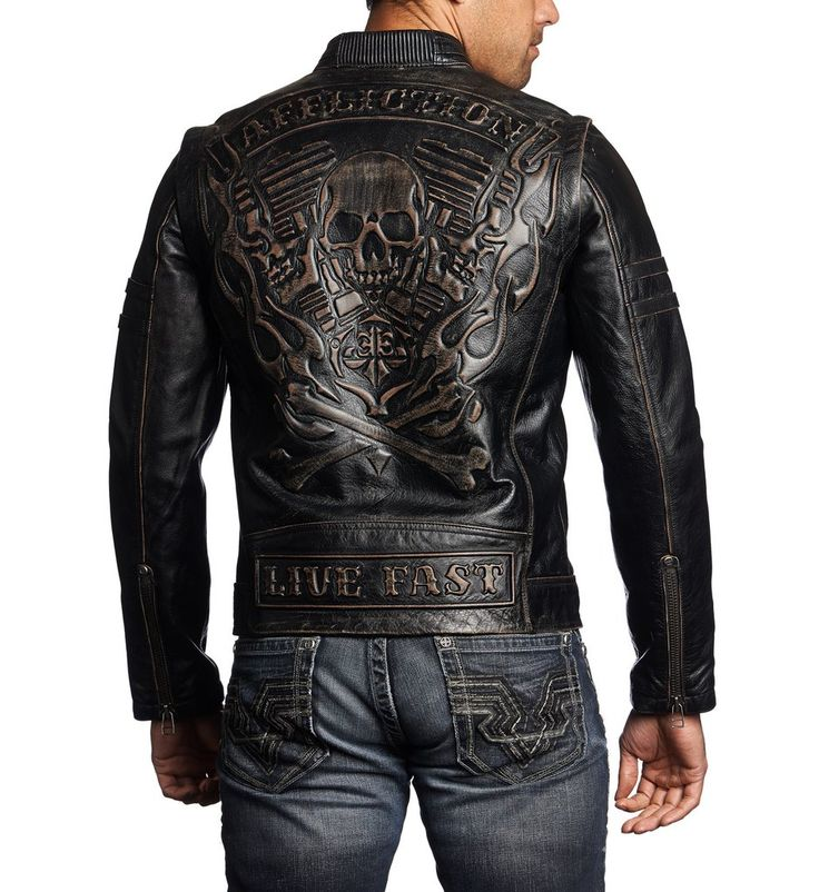 Rebellious - Affliction Clothing - Mens Jackets - 2