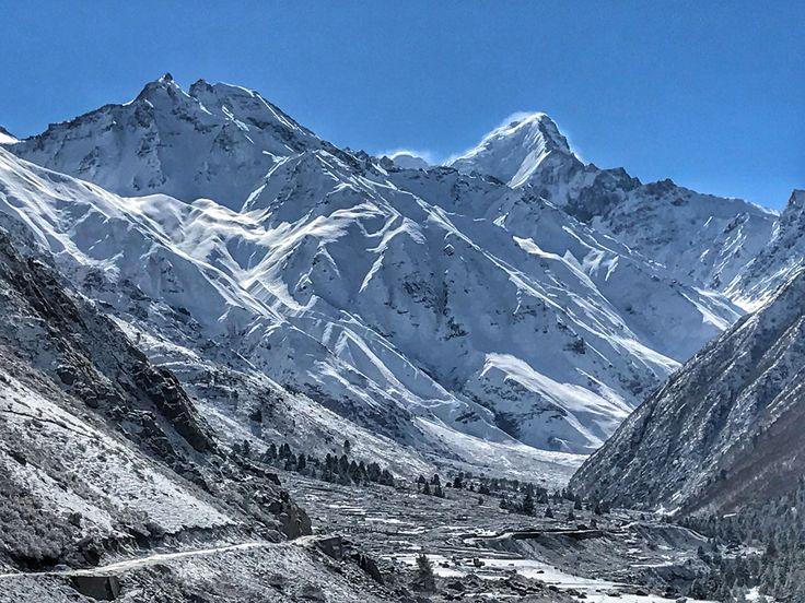 Chitkul hamlet, beauty of himalayas