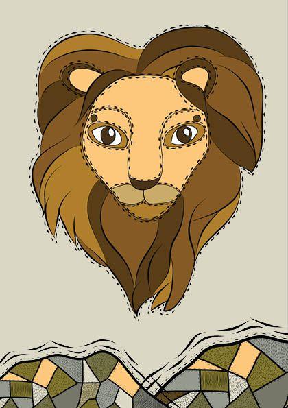 Lion - Willemijn//Art&Design