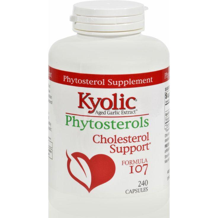 Kyolic Aged Garlic Extract Phytosterols Formula 107 - 240 Capsules