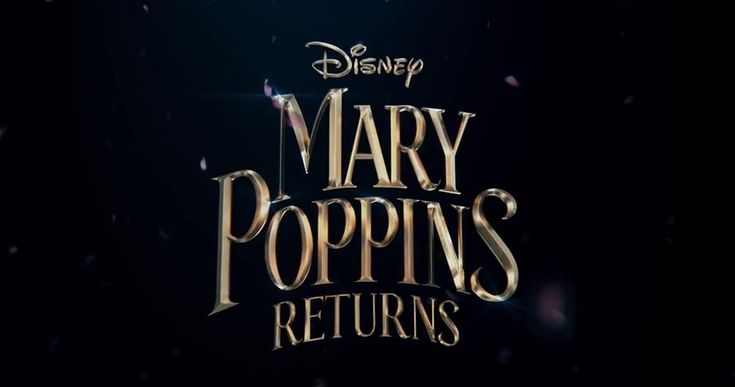 Disney has released the FIRST teaser trailer for Mary Poppins Returns the sequel to the beloved classic based on the second of 5 Mary Poppins books.  Mary Poppins Returns picks up two decades after the events of the 1964 film furthering the adventures of Mary Poppins and the Banks children Jane and Michael who have long since grown up (theyre played in the film by Emily Mortimer and Ben Whishaw) but are no less in need of their former minder. The new tale as penned by screenwriter David…