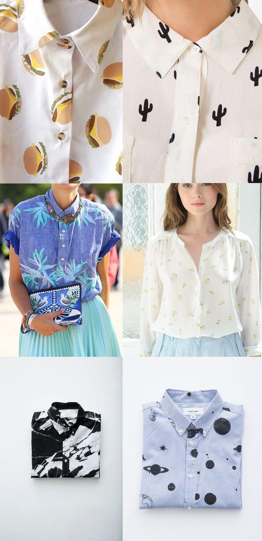 milowcostblog: obsesión: camisas estampadas