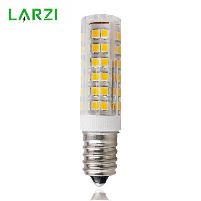 Larzi Mini E14 Led Lamp 3w 4w 5w 7w 220v Led Corn Bulb Smd2835 360 Beam Angle Replace Halogen Chandelier Lights Chandelier Lighting E14 Led Led Bulb