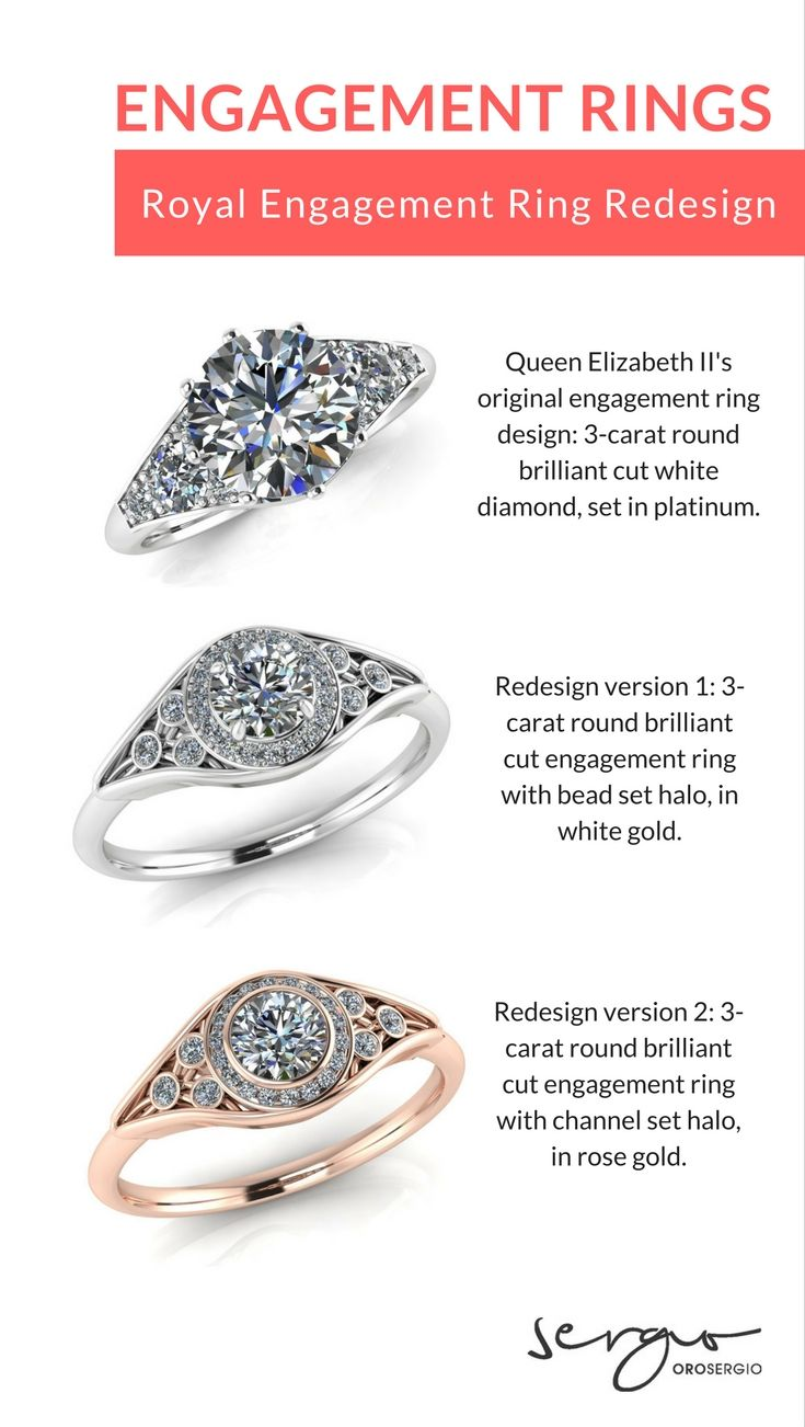 Engagement Rings Engagement Ring Redesign Inspired By Queen