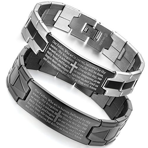 Flongo 2 PCS Edelstahl Armband Link Handgelenk Schwarz Si... https://www.amazon.de/dp/B01G3GSLUA/ref=cm_sw_r_pi_dp_x_1Pykyb018P2NE