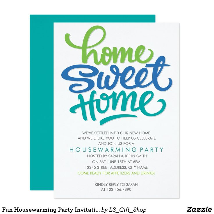 62 best housewarming invitations images on pinterest housewarming fun housewarming party invitation stopboris Image collections