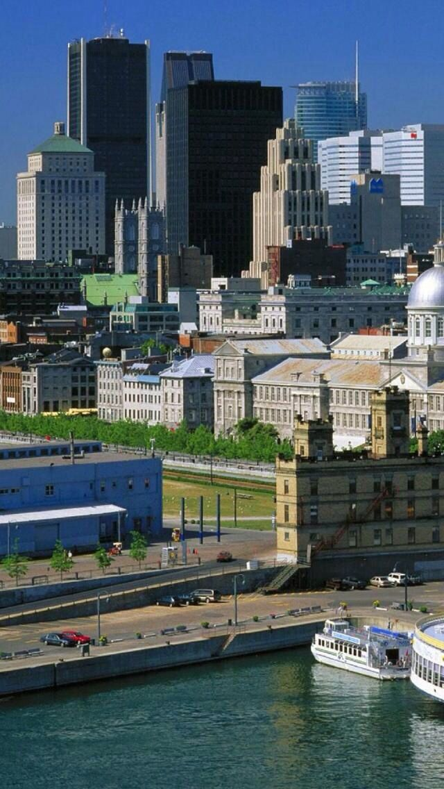 Montreal, Quebec, Canada - love this place especially in the summer.