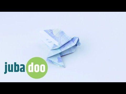 Geldschein falten: Vogel - YouTube