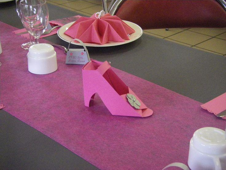 decoration de table theme couture. Black Bedroom Furniture Sets. Home Design Ideas