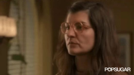 Pin for Later: 17 Reasons You Adored My Big Fat Greek Wedding Toula had the best unimpressed face ever.