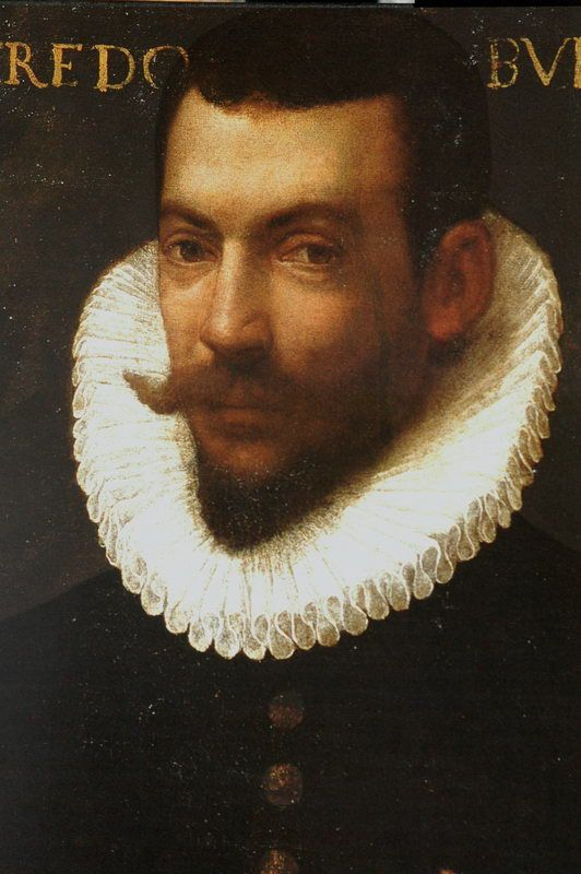 Portrait of Torquato Tasso....Tasso (1544 –1595) , born in Sorrento, was an Italian poet of the 16th century, best known for his poem La Gerusalemme liberata (Jerusalem Delivered, 1581). He suffered from mental illness and died a few days before he was due to be crowned as the king of poets by the Pope. Until the beginning of the 20th century, Tasso remained one of the most widely read poets in Europe.