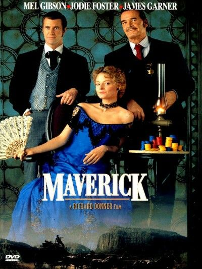 Maverick (1994) Cast: Mel Gibson, Jodie Foster, Graham Greene, etc