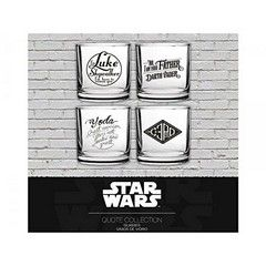 Star Wars - Famous Quotes Set Of 4 Glasses