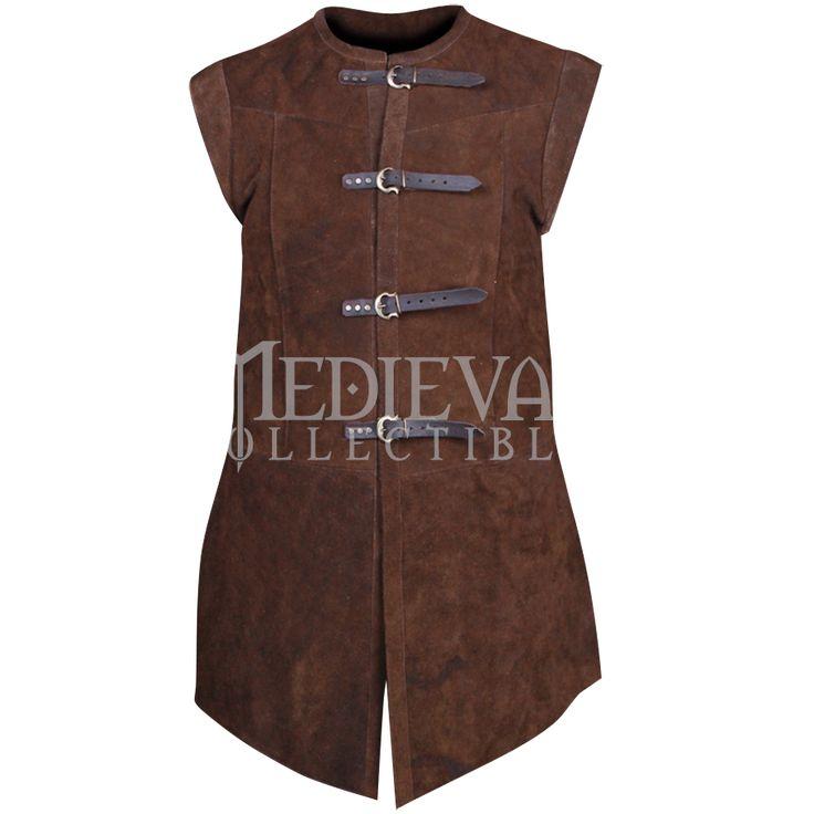 Garen Suede Vest - MY100145 by Medieval Collectibles