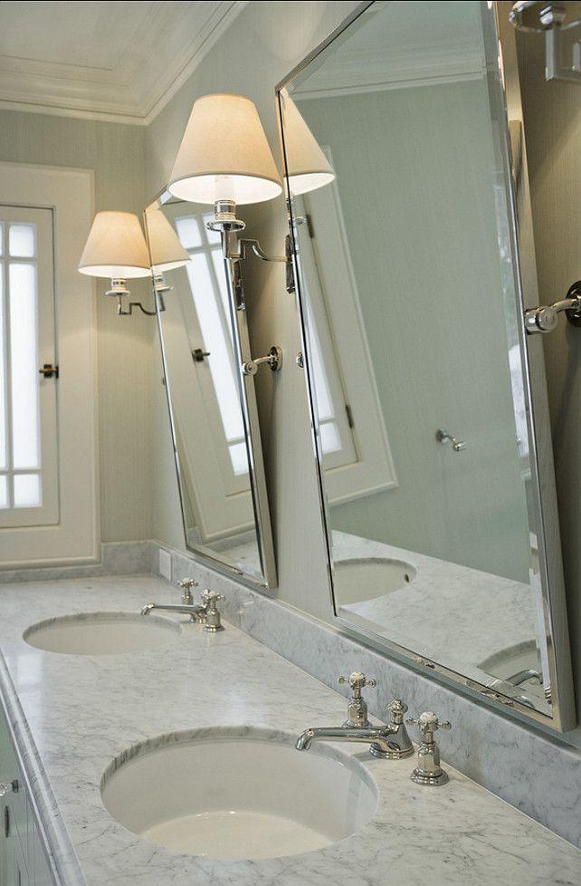 29 best Double Vanity Configurations images on Pinterest | Bathrooms ...