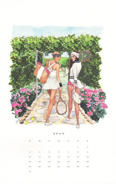 Inslee July calendar