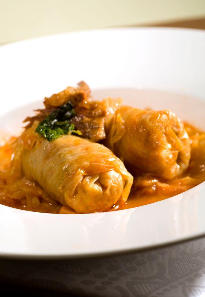 Domaca Sarma (Cabbage Rolls)