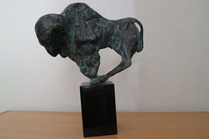 Online veilinghuis Catawiki: Theo Mackaay - Bison