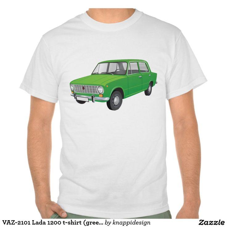 VAZ-2101 Lada 1200 t-shirt (green)  #vaz #vaz2101 #lada #lada1200 #fiat #soviet #sovietunion #automobile #car #tshirt #tshirts #russia #70s #80s #classic