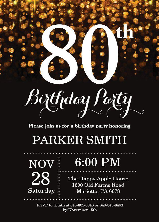 100th Birthday Invitations Birthday Invitations Birthday Party Invitation Templates Birthday Template