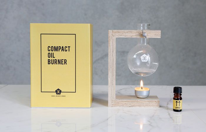 Love this too! Compact Oil Burner has been created with a sustainable ethos and minimal aesthetic. It facilitates the simple act of daily ritual and relaxation… So wake up and smell the roses. Unit comes assembled ready for use.