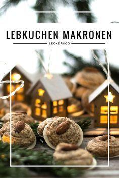 Lebkuchen Makronen mit Mandeln und Haselnüssen