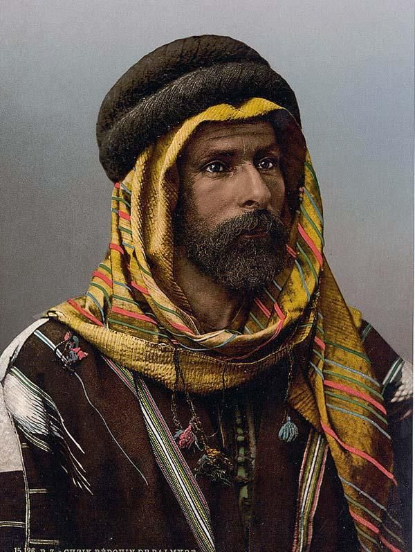 Bedouin Chief of Palmyra, Holy Land i.e., Tadmur, Syria