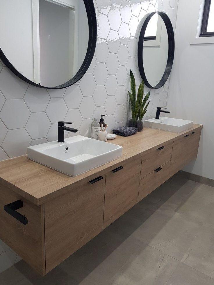 61+ moderne und zeitgemäße Badezimmerfliesen-Ideen für ein neues Interieur