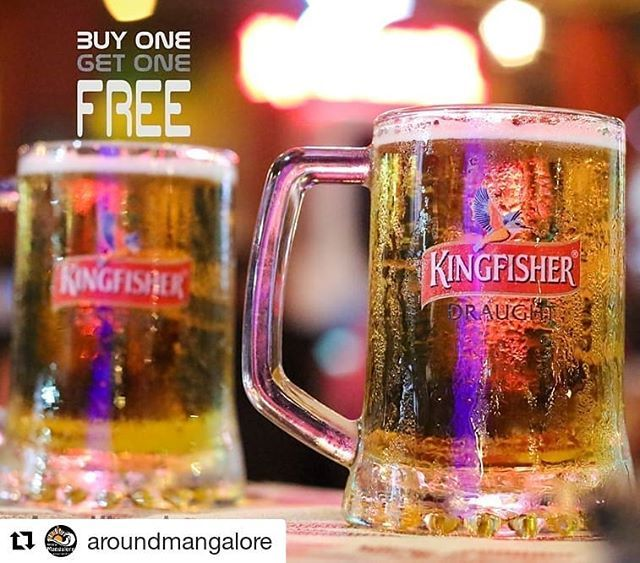 Buy One Beer get one FREE At Maharaja Restaurant Mangalore. Current Offer on their 16th Anniversary.  #Repost @aroundmangalore (@get_repost)  AroundMangalore.com  #alwayshungry #blog #restaurant #foodphotograph #food #foodie #foodporn #foodblog #blogger #foodelia #foodtalkindia #foodtalk #photography #insta #instagramers #instfood #yammy #yummy #instayummy #instafood #instafoodie #kudla #mangalore #aroundmangalore #maharaja #Manharajamangalore #fish #seafood @maharajamlr
