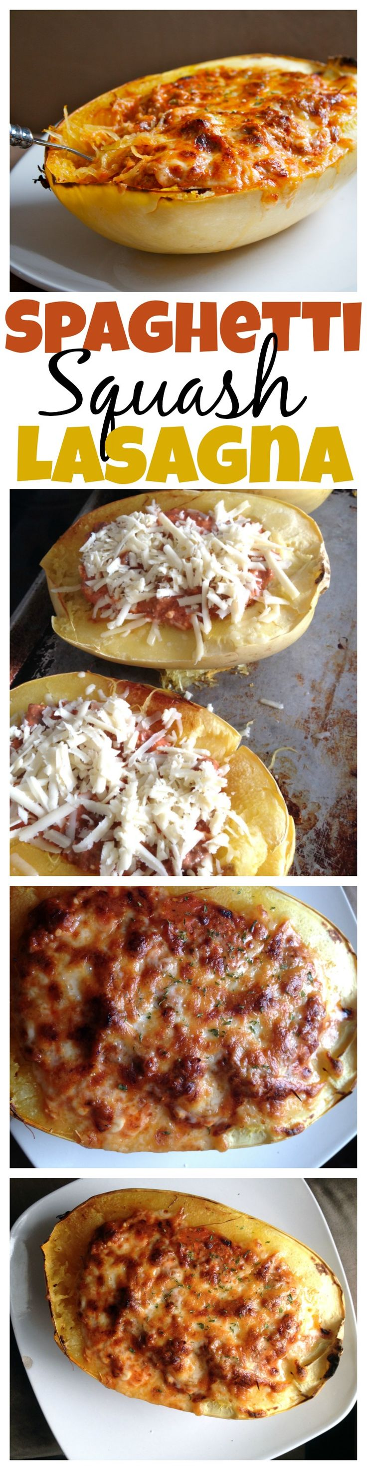 A low carb option to a classic favorite! This spaghetti squash lasagna is amazing, easy to make, and tastes fantastic! - Eazy Peazy Mealz