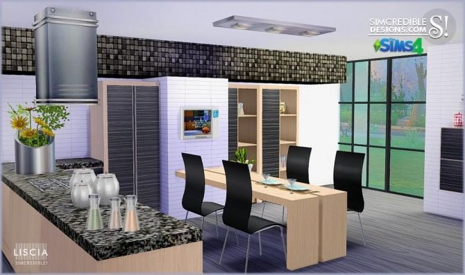 67 best images about sims 4 or sims 3 on pinterest for Sims 3 kitchen designs