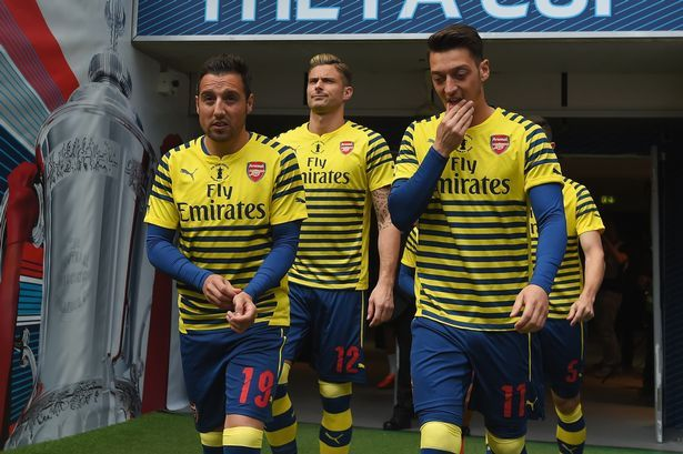 "Arsenal star Mesut Ozil loving life alongside ""excellent"" Santi Cazorla - Mirror Online"