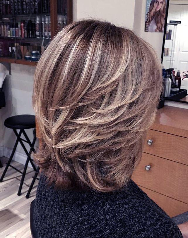 Frisuren Mittellang Hinten Gestuft Frisuren Gestuft Hinten Mittellang Kurze Haare Mit Stufen Haar Styling Medium Haare