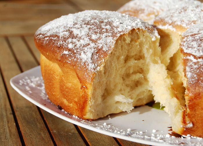 Brioche sans beurre et sans oeuf (de Christophe Michalak)